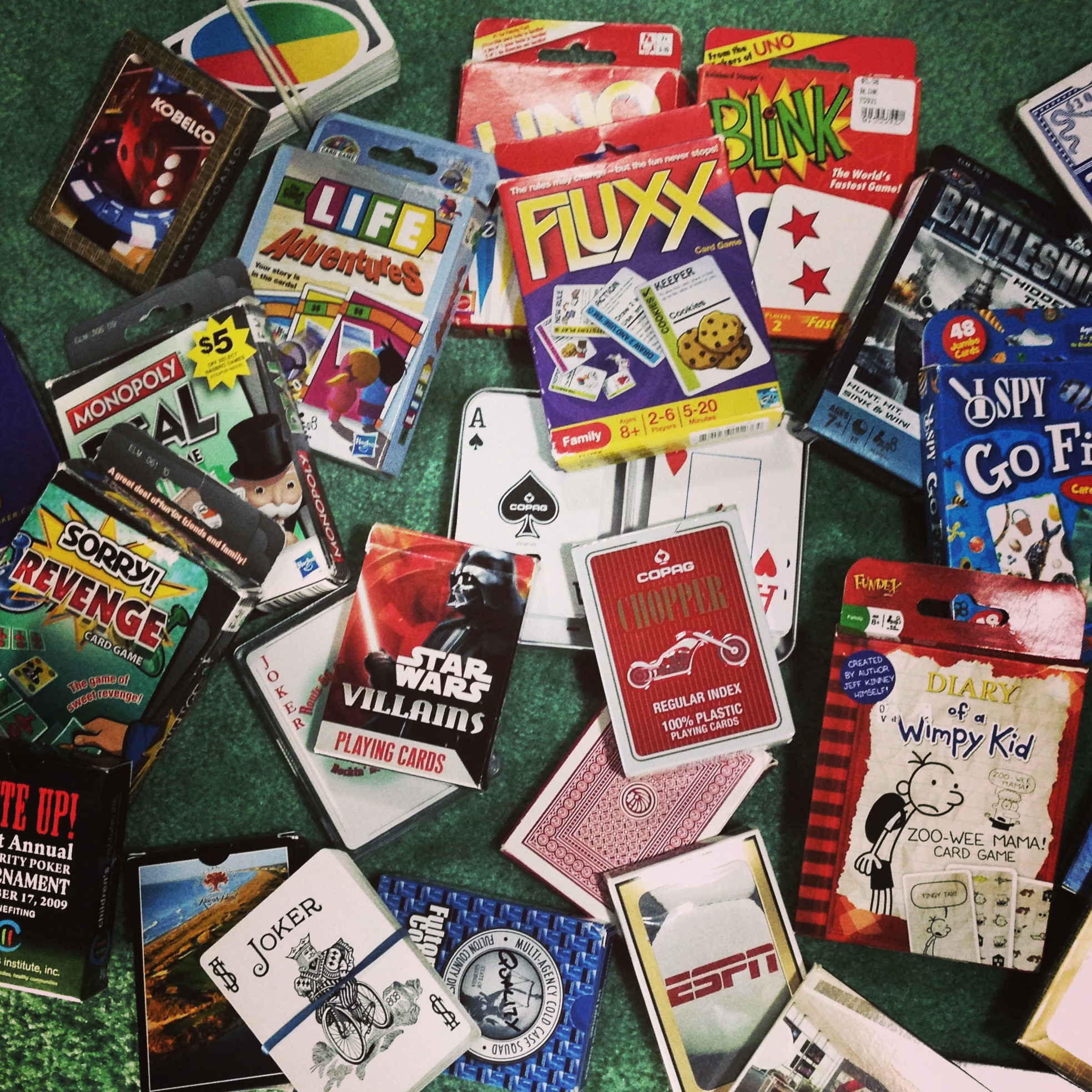 Lots of Card Games